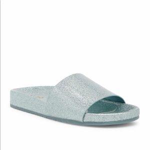 Also Glitter Slides Sandals